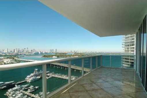 Apartment Miami Badezimmer Terrasse Miamibeach Condo
