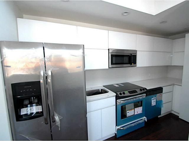 Totally renewed kitchen with stainless steel appliances