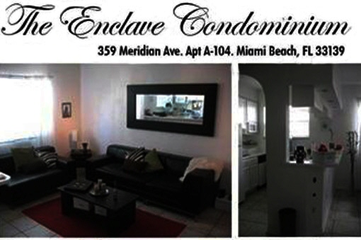 apartment in Miami Beach
