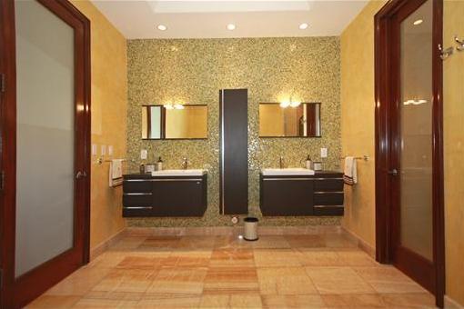 Aesthetic bathroom
