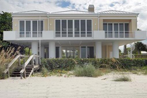 Beautiful beachfront property