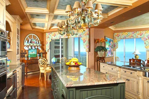 Huge kitchen with cook island