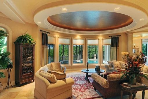 Eccentric living room