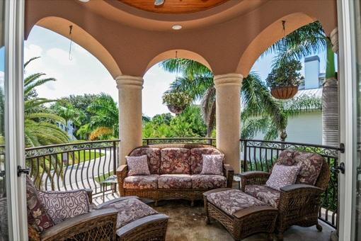 Property open balcony