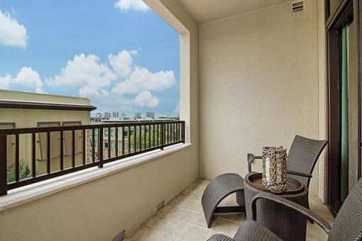 Nice balcony with great views