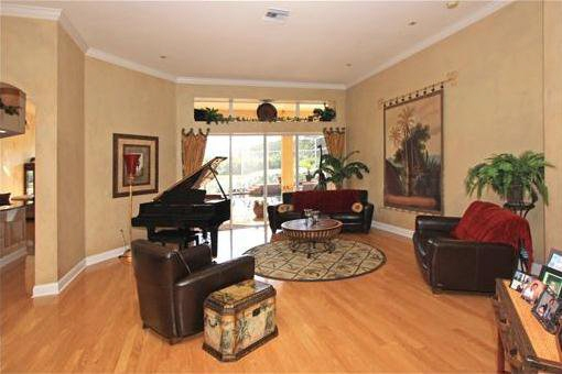 Open and inviting living room