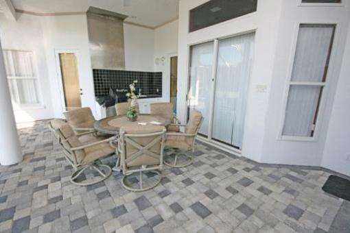 Terrace with BBQ area