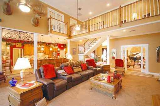 Largen open living area