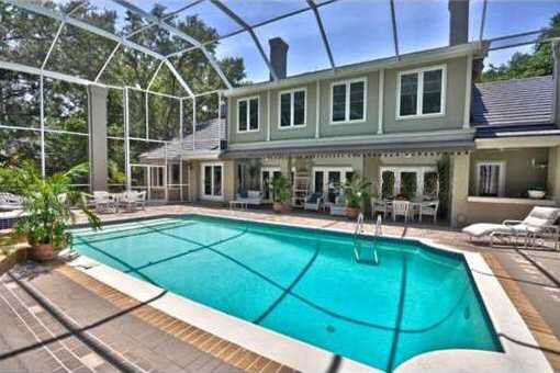 villa Tampa - Villa under oak trees in Tampa - Florida property for sale